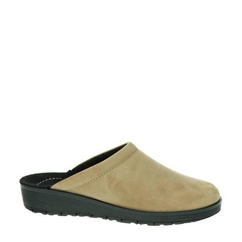 Rohde pantoffels beige