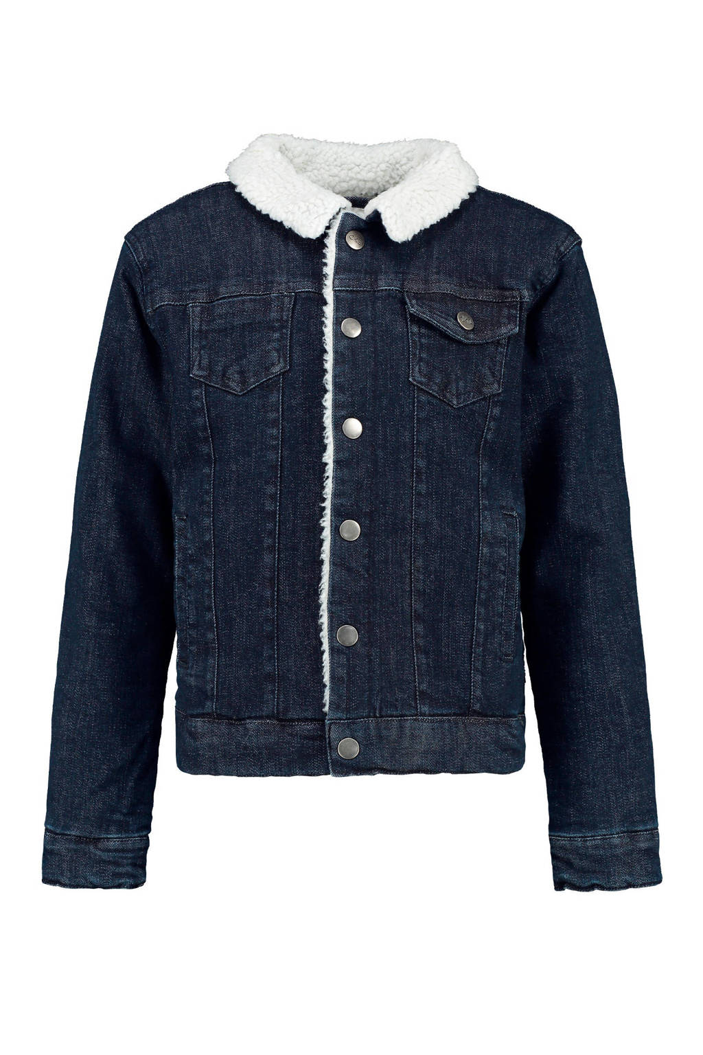 CKS KIDS winterjas Yasander dark denim, Dark denim