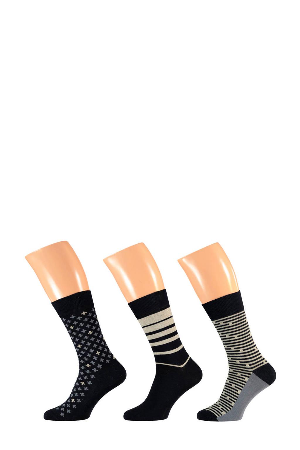 Apollo sokken 3-pak, Multicolor