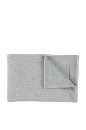 baby ledikantdeken 100x150 cm grain grey