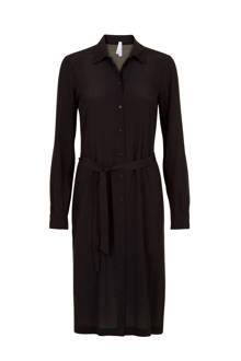 Regulier blousejurk zwart