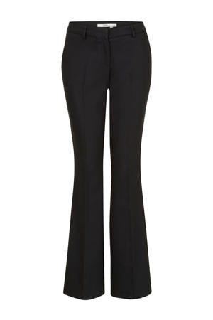 flared pantalon zwart
