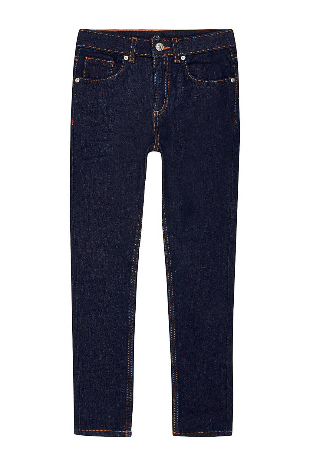 River Island skinny jeans donkerblauw, Donkerblauw