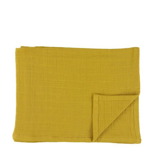 Les Rêves d'Anaïs hydrofiele doeken 110x110 cm (2 stuks) bliss mustard