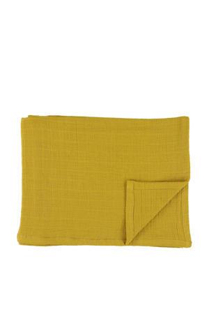 hydrofiele doeken 110x110 cm (2 stuks) bliss mustard