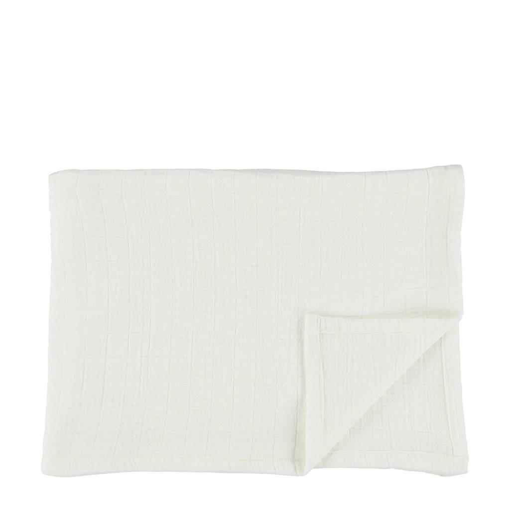 Les Rêves d'Anaïs hydrofiele doeken 110x110 cm (2 stuks) bliss white, Bliss White