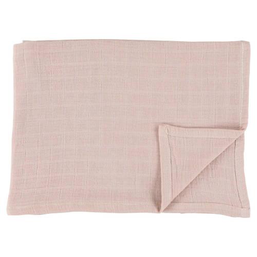 Les Rêves d'Anaïs hydrofiele doeken 110x110 cm (2 stuks) bliss rose