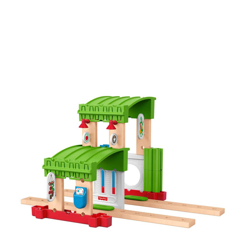 Fisher-Price Wonder Makers houten uitbreidingsset - build it up