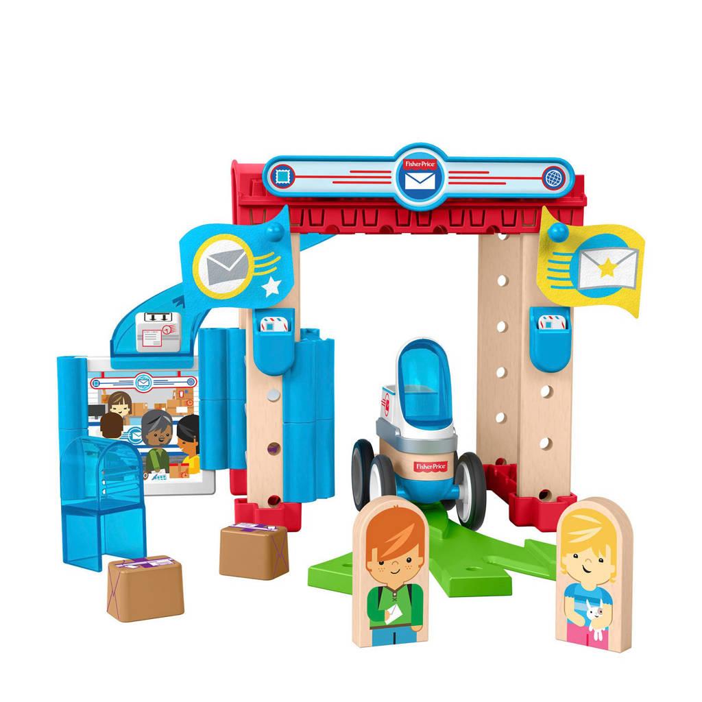 Fisher-Price Wonder Makers houten postkantoor