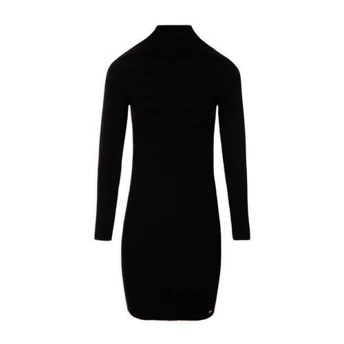 Morgan jersey jurk zwart