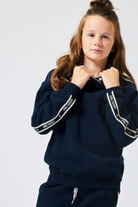 America Today Junior hoodie Hoodie Star Jr. met contrastbies donkerblauw, Donkerblauw
