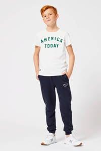 America Today Junior   slim fit joggingbroek Cooper donkerblauw, Donkerblauw
