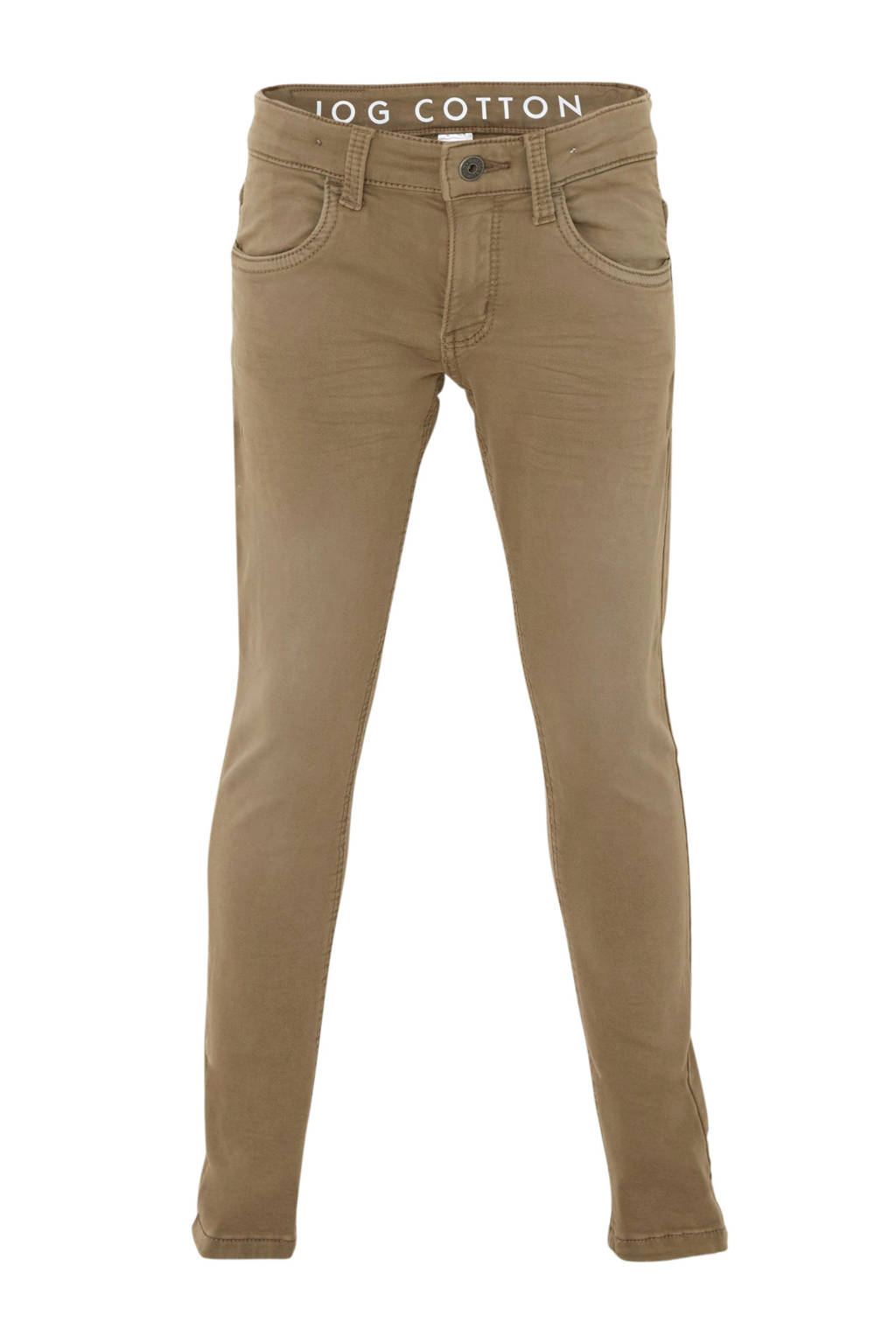 C&A Here & There skinny broek beige, Beige