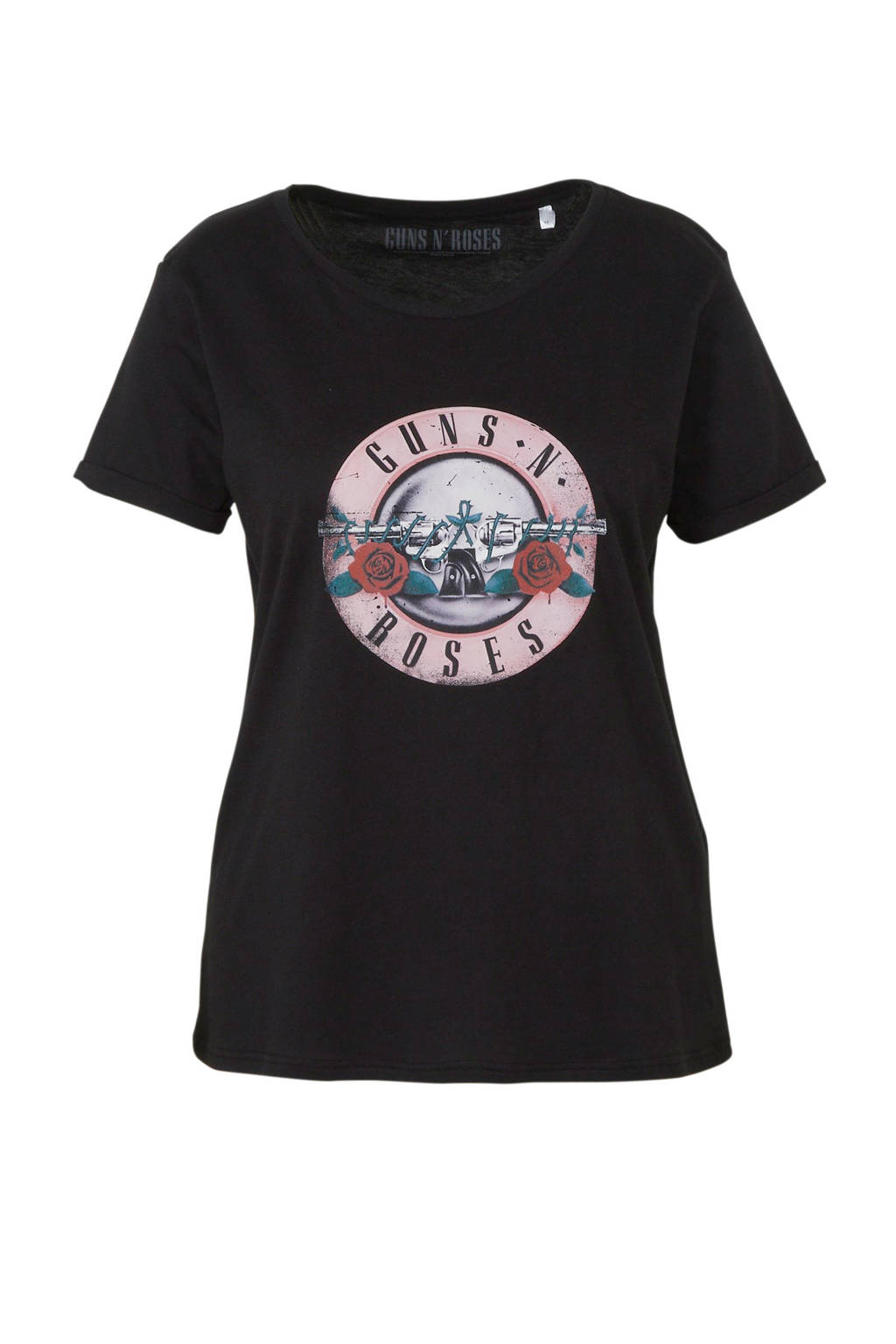 C&A XL Clockhouse T-shirt met printopdruk zwart, Zwart