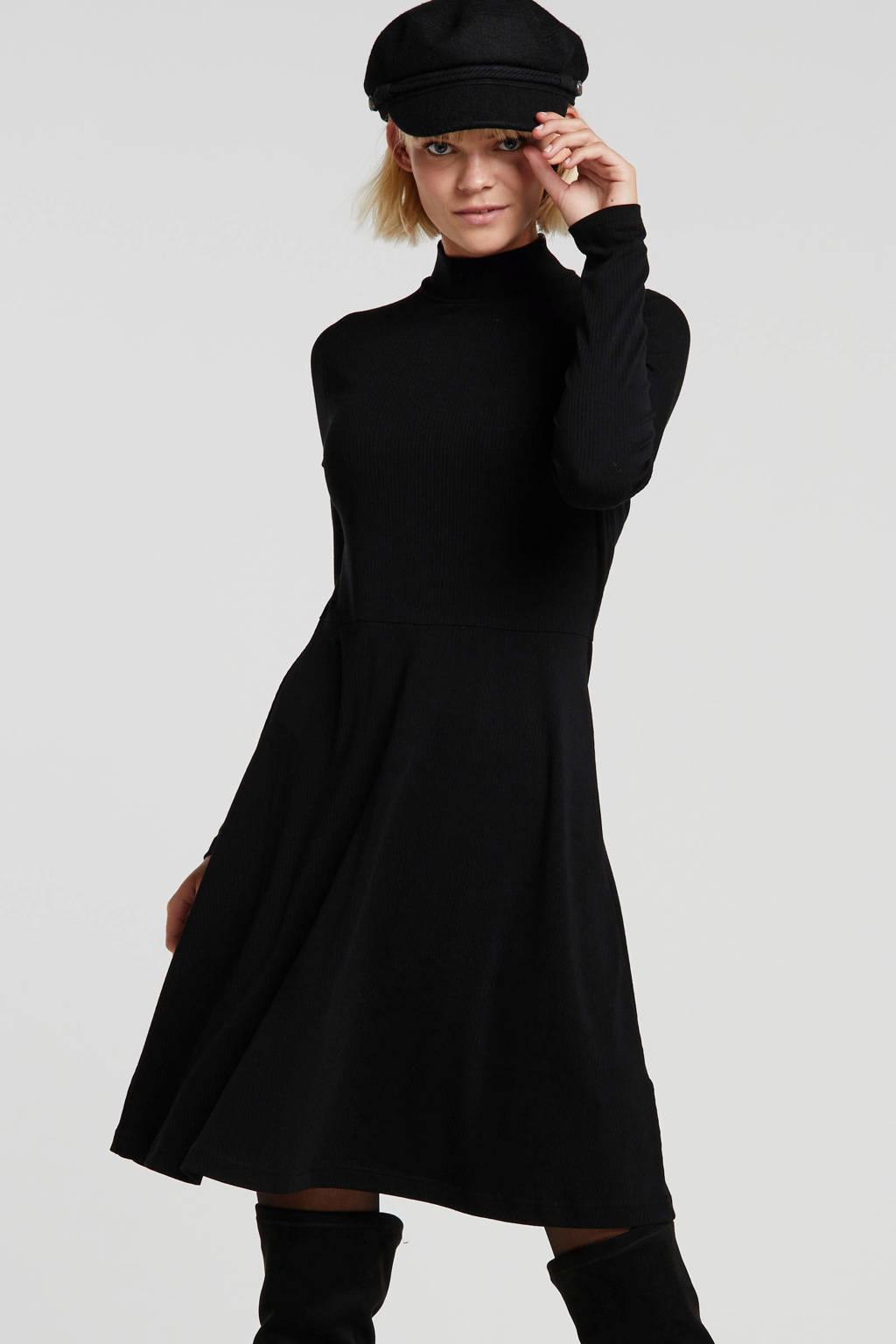 Banana Republic jersey jurk zwart, Zwart