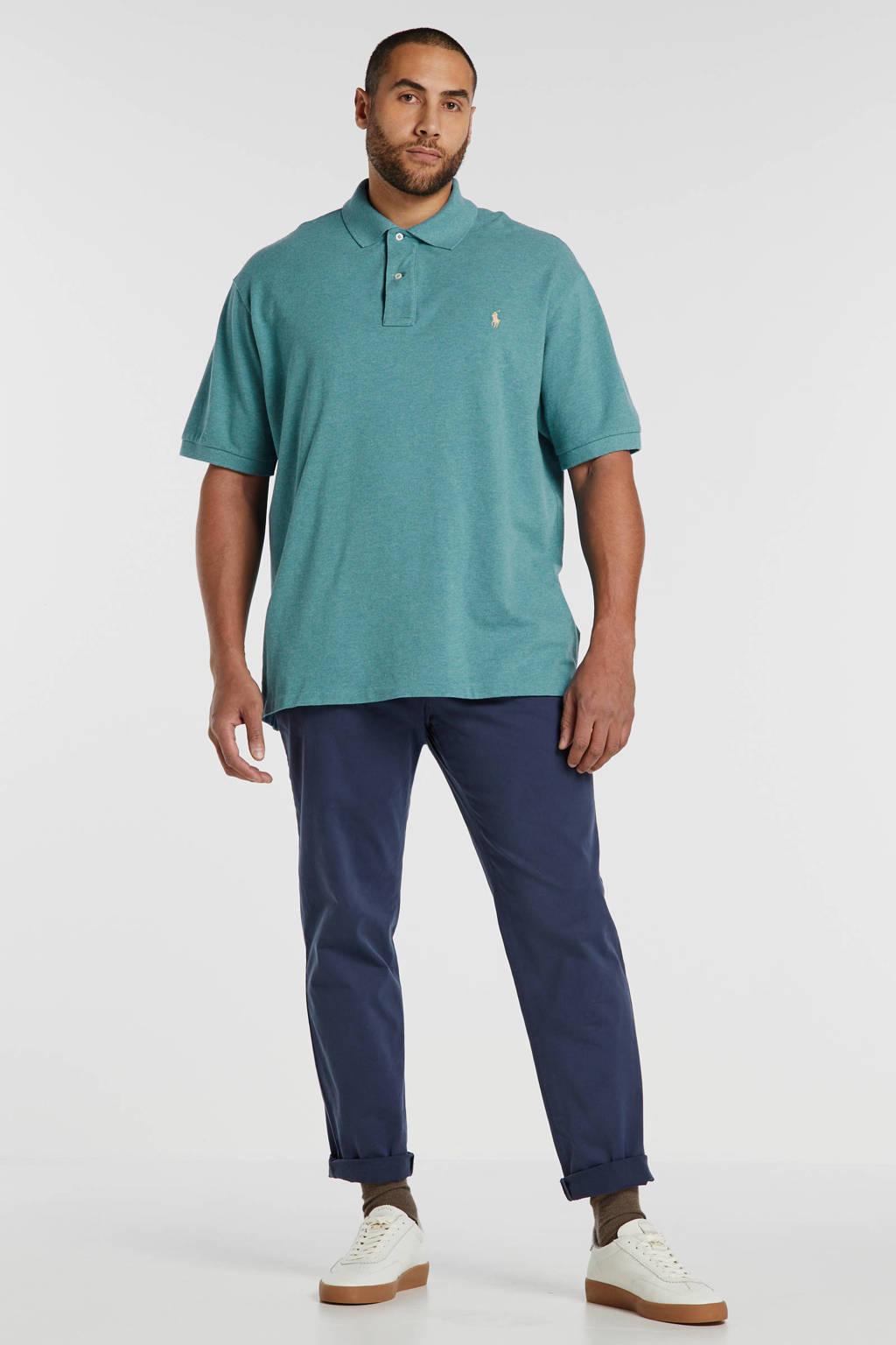 POLO Ralph Lauren Big & Tall +size regular fit polo lichtblauw, Lichtblauw