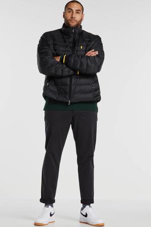 +size winterjas zwart