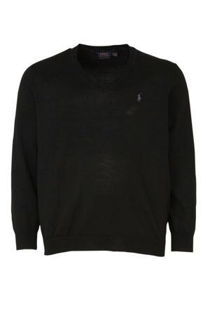 +size wollen trui zwart
