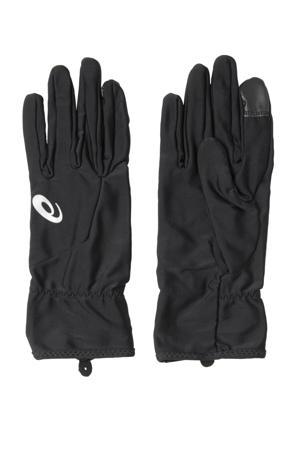 hardloophandschoenen zwart