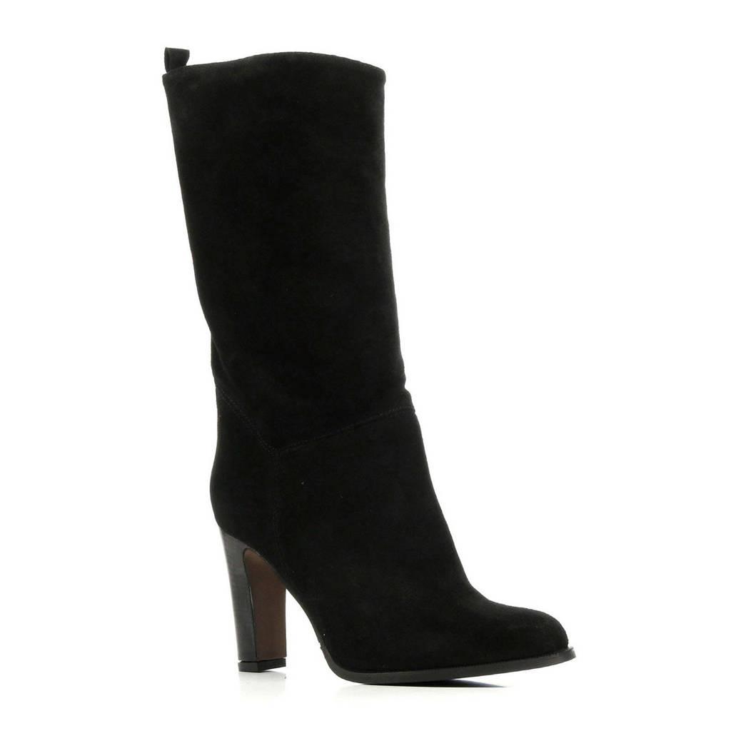 Mace Padua suède laarzen zwart, Zwart
