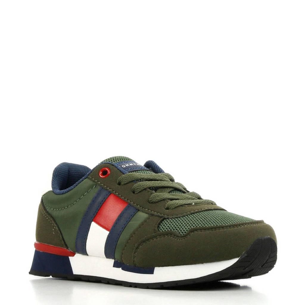 Tommy Hilfiger  T3B4 30482 sneakers groen, Groen