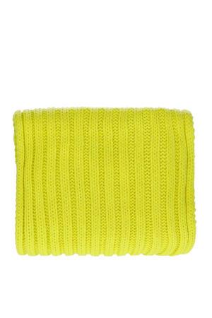 sjaal neon groen