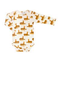 Trixie romper met lange mouwen cheetah, Cheetah