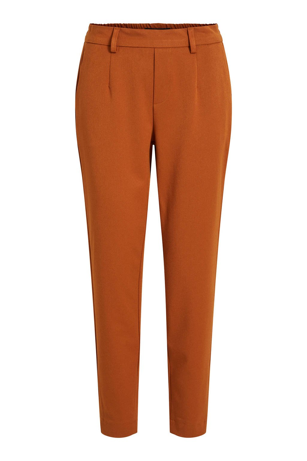 OBJECT regular fit pantalon roestbruin, Roestbruin