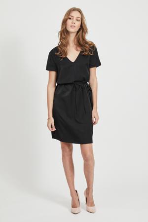 jurk en kant zwart