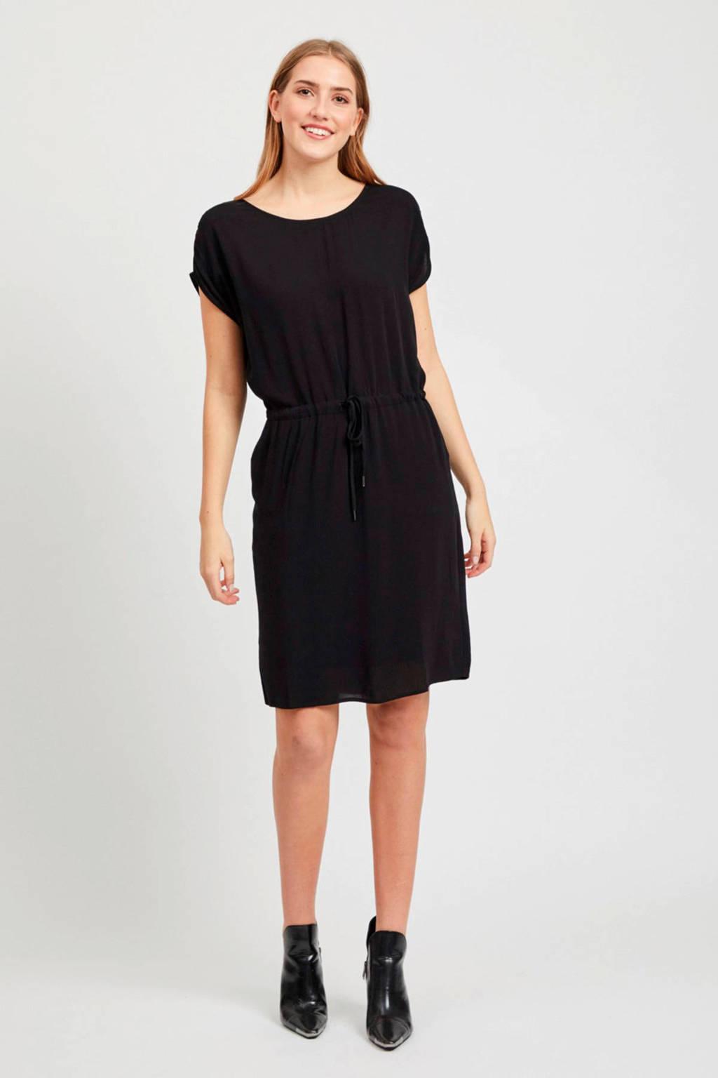 OBJECT jurk zwart, Zwart