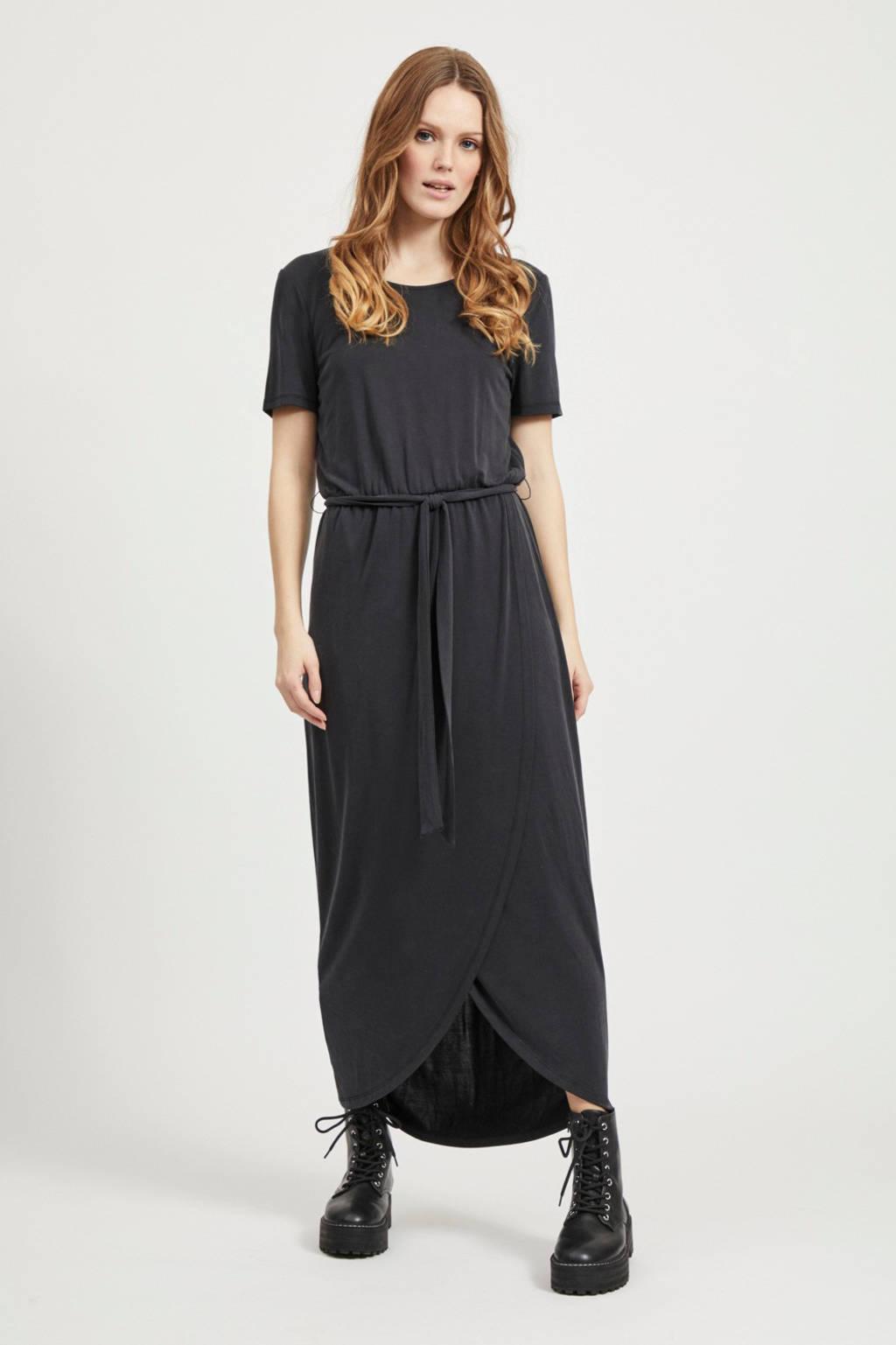 OBJECT jersey jurk zwart, Zwart
