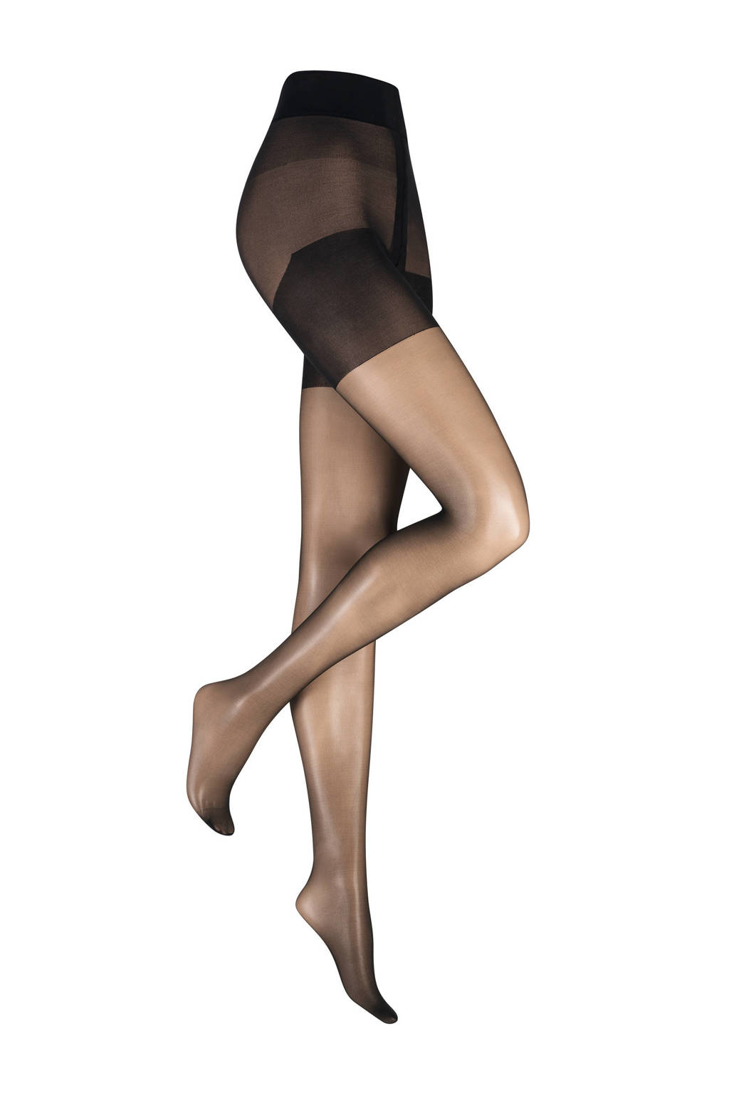 Kunert Plus Size panty True Beauty 20 denier zwart, Zwart