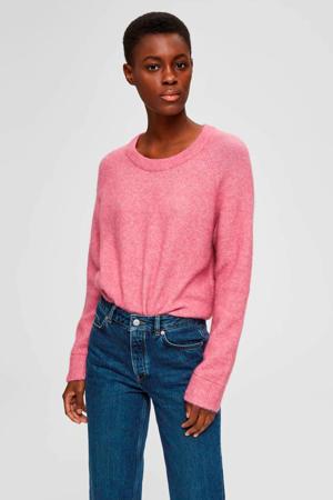gemêleerde trui roze