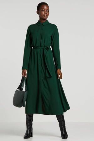 Wehkamp x blousejurk groen