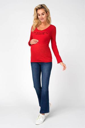 high waist bootcut zwangerschapsjeans Jade 30 inch