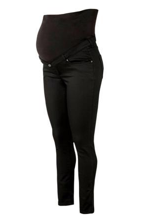 skinny zwangerschapsjeans Romy zwart