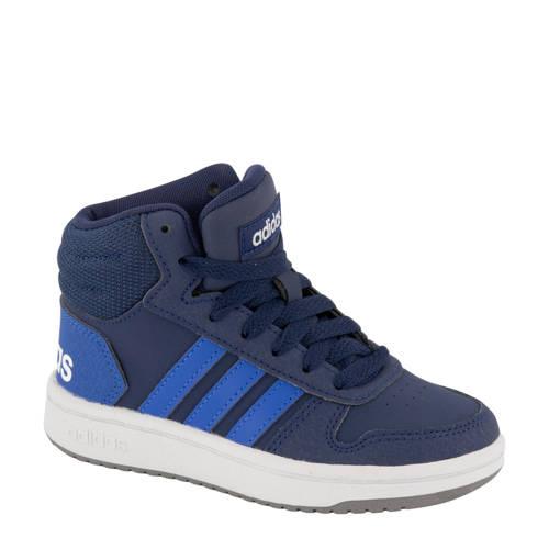 adidas Hoops Mid 2.0 sneakers blauw