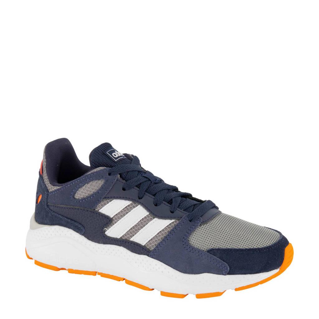 adidas  Crazychaos  sneakers blauw/wit, Wit/oranje/grijs