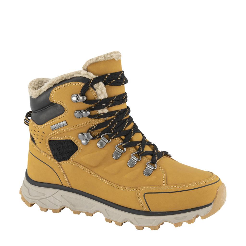 Fila   veterboots geel, Geel/bruin