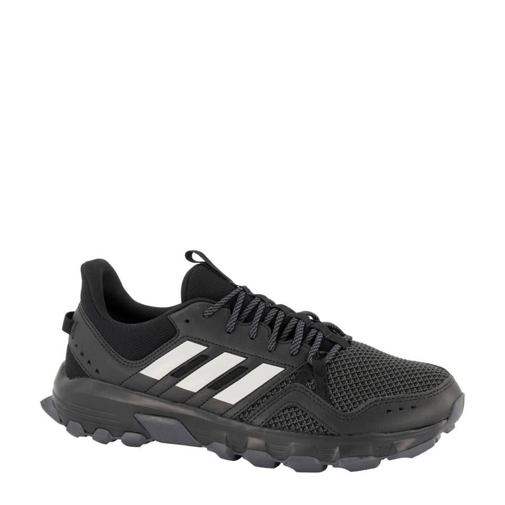 adidas  Rockadia Trail Rockadia Trail hardloopschoenen zwart/wit, Zwart/wit