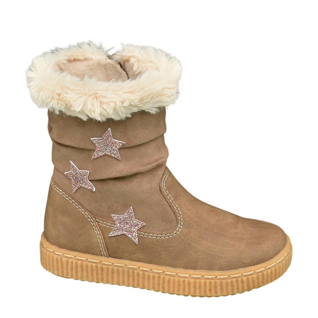 Cupcake Couture   warmgevoerde laarzen bruin, Lichtbruin