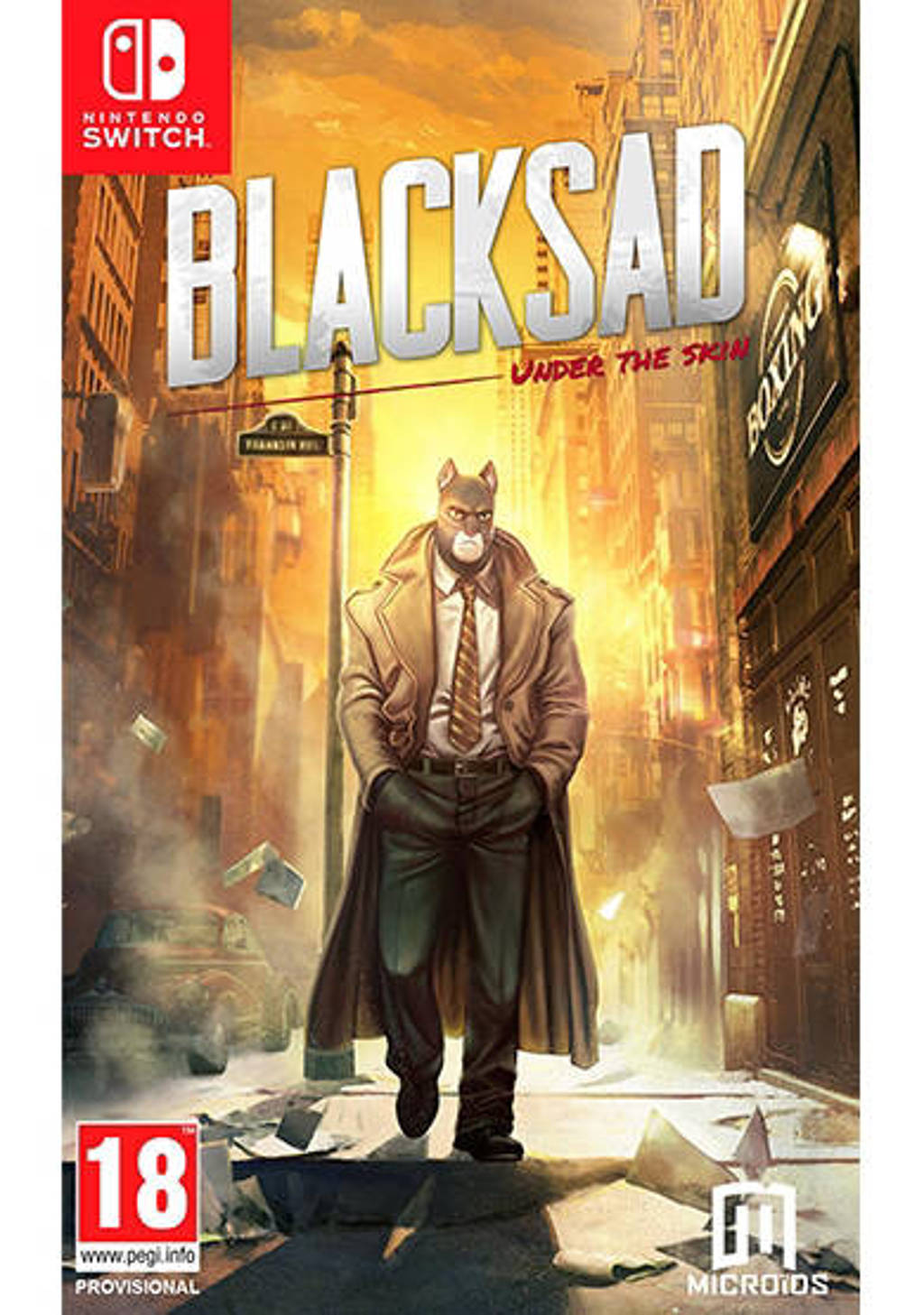 Blacksad - Under the skin (Limited edition) (Nintendo Switch)