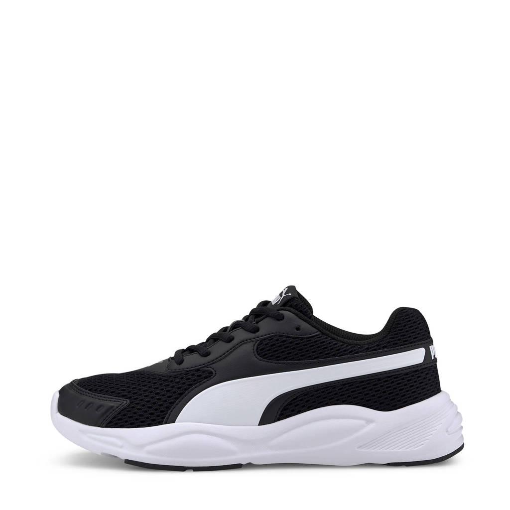 Puma 90s Runner  sneakers zwart/wit, Zwart/wit