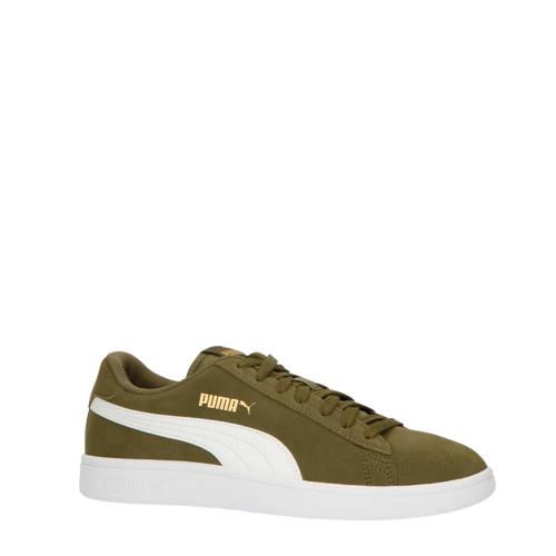 Puma Smash V2 sneakers olijfgroen