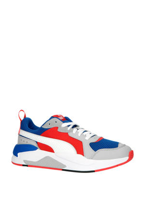 X-Ray  sneakers kobaltblauw/wit/rood
