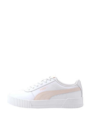 Carina L sneakers wit/roze