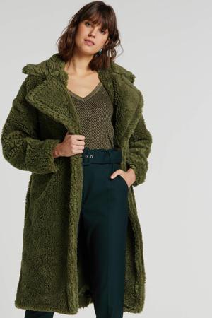 teddy jas groen