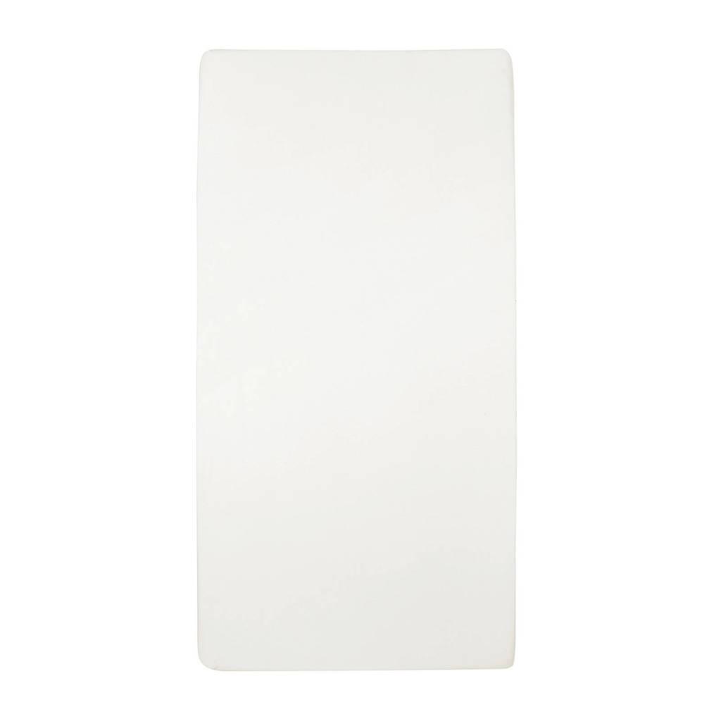 Meyco katoenen jersey hoeslaken wieg 40x80/90 cm offwhite, Offwhite