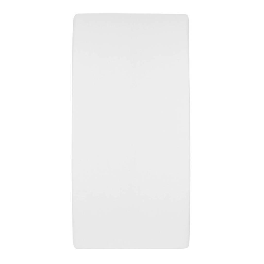 Meyco molton stretch hoeslaken 50x90 cm wit, Wit