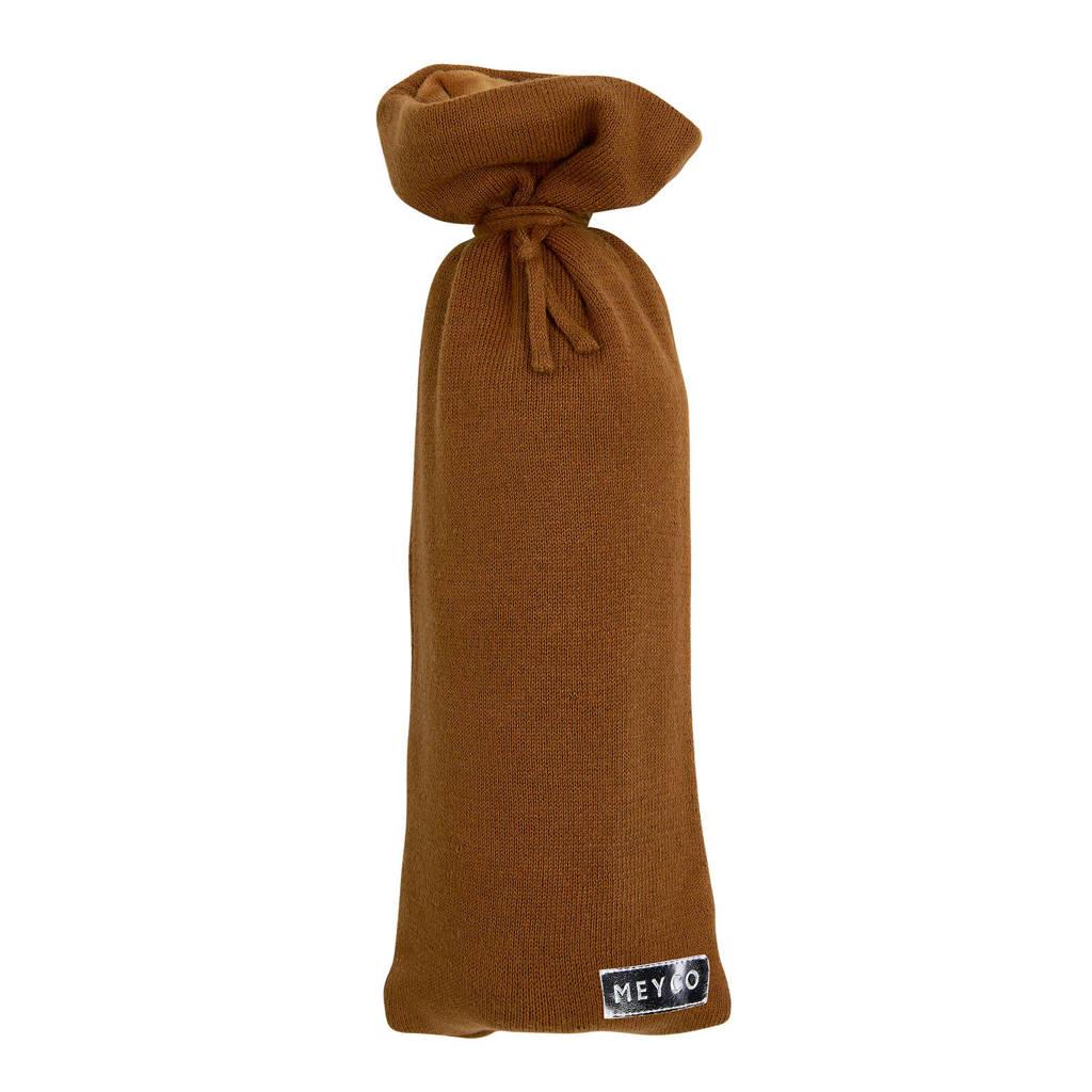Meyco Knit Basic kruikenzak camel, Camel
